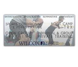 Wilcox Wellness & Fitness Logo